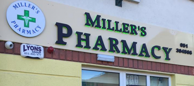 Millers Pharmacy Waterford – Our new home