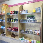 Miller's Pharmacy Waterford stall