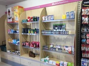 Miller's Pharmacy Waterford stall