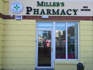Miller's Pharmacy Waterford front