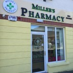 Miller's Pharmacy Waterford front door