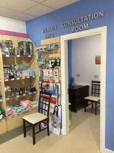Miller's Pharmacy Waterford consultation room