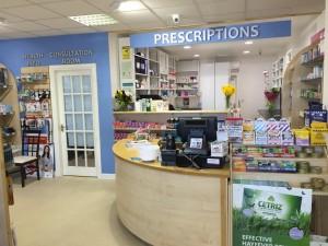 Miller's Pharmacy Waterford Front desk